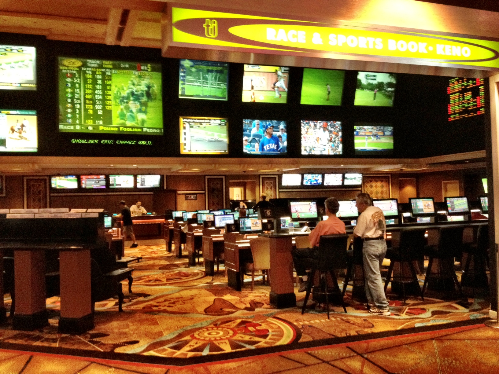 the treasure island  ti  sports book is moving